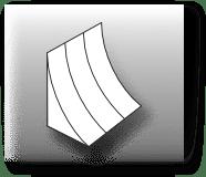 Concave shape