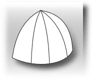 dome shape
