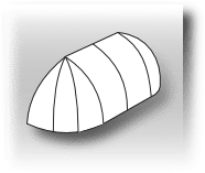 elongstated dome